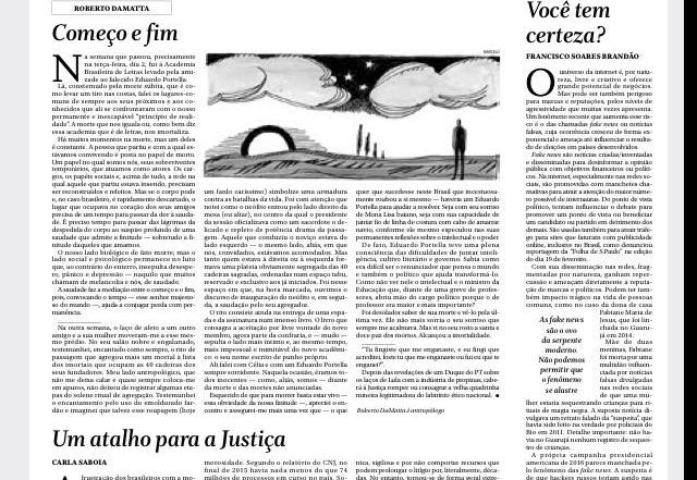 Artigo Globo