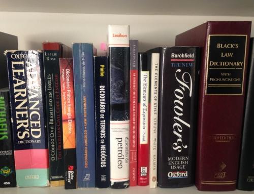 Dicas de dicionários técnicos